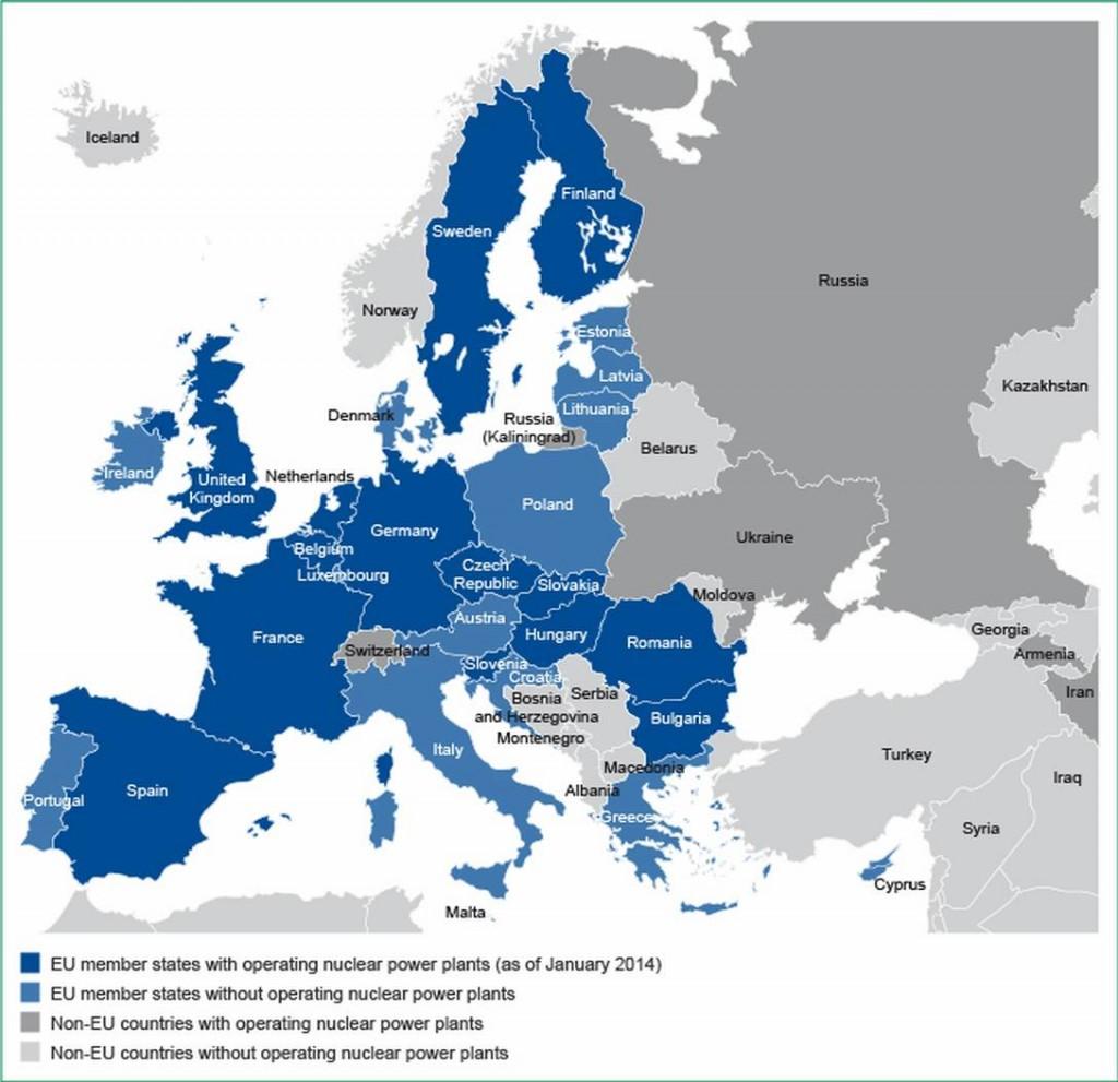 Осем държави искат от ЕК нов пакет от помощи за ядрената индустрия