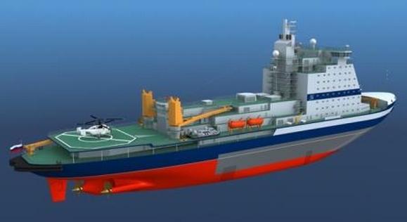 """Първите горивни касети за строящия се атомен ледоразбивач от ново поколение """"Арктика"""" ще са готови през есента на 2015 година"""