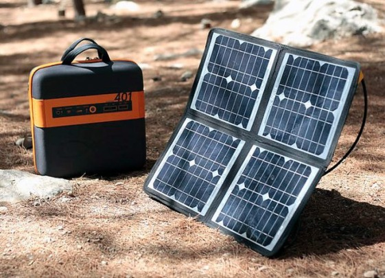 KaliPAK – портативна слънчева електроцентрала