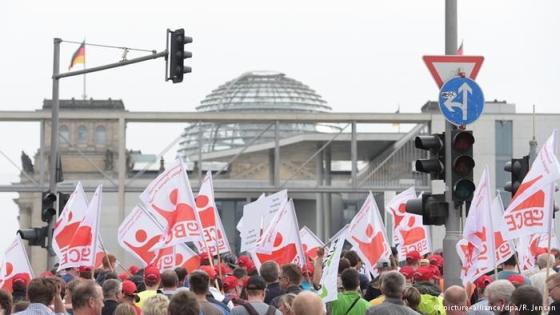 Германия – В Берлин протестират срещу закриване на въглищните електроцентрали