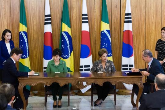 Бразилия и Южна Корея подписаха споразумение за сътрудничество в областта на ядрената енергетика