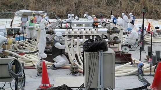 """TEPCO започна да създава слой от вечно замръзнала земя под АЕЦ """"Фукушима-1"""""""