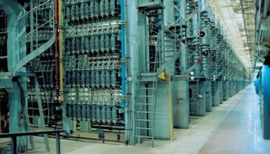 На Уралския електрохимически комбинат е въведен в експлоатация втори блок с центрофуги от 9-то поколение