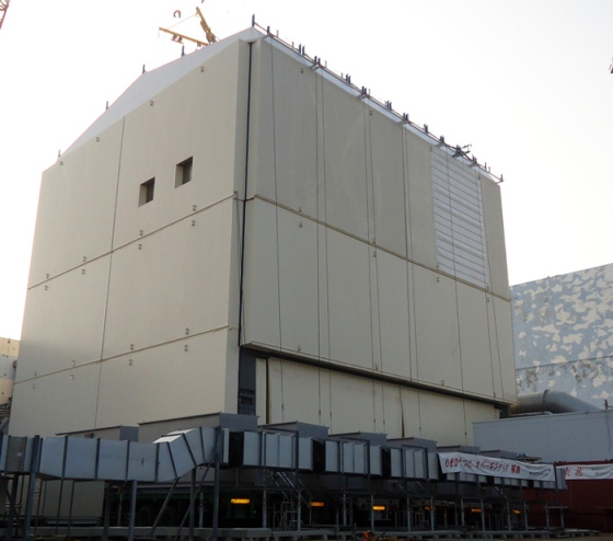 "Започна демонтажът на защитната обвивка на зданието на реактора на блок №1 на АЕЦ ""Фукушима-1"""