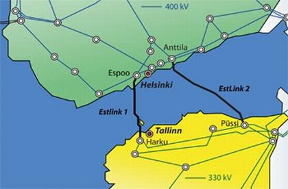 Естония – цената на електроенергията скочи с над 30% поради трикратно спадане на доставките от Финландия