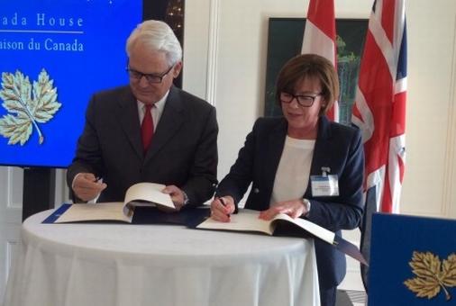 Канада и Великобритания разширяват сътрудничеството си в сферата на ядрената енергетика