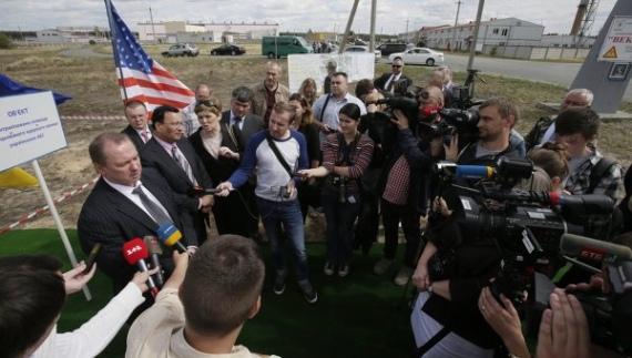 Украйна – Третият опит за започване на строителството на сухото хранилище за ОЯГ по технологията HOLTEC е пред провал.