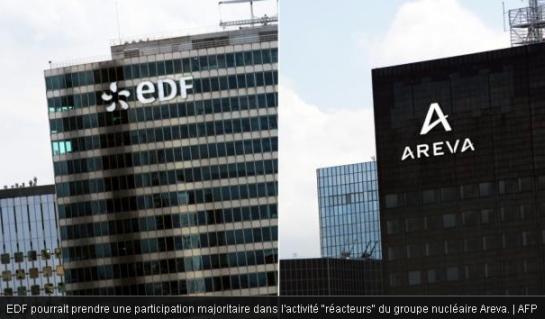 """Фрaнция – правителството одобри създаване на компанията за реакторен бизнес """"Areva NP"""" с мажоритарно участие на EDF"""