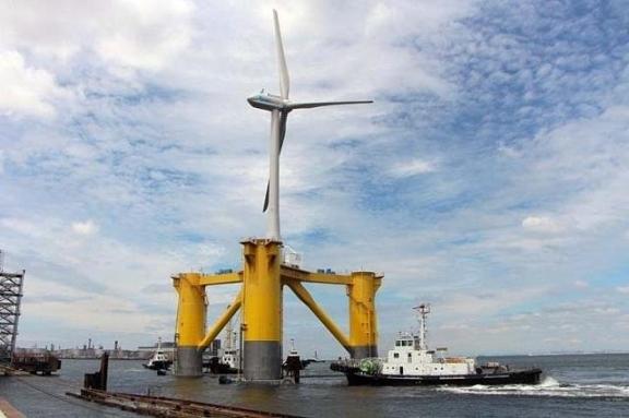 В Япония са построили ветрогенератор с размерите на 60-етажен небостъргач
