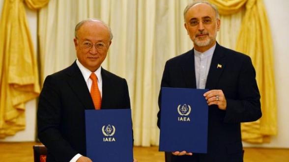 """Иран и МААЕ подписаха """"пътна карта"""" – подробности"""