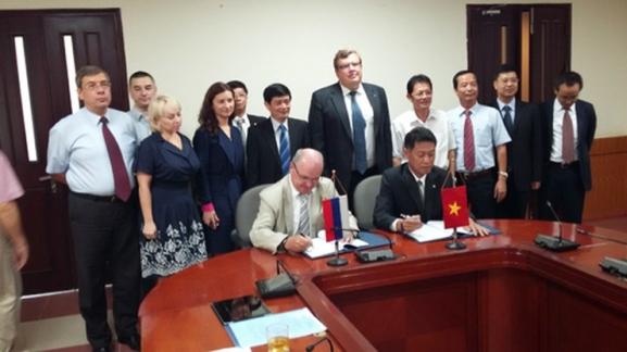 В Ханой е подписано Генералното рамково споразумение (ГРС) за реализиране на първия етап от проекта за изграждане на АЕЦ Нинтхуан-1