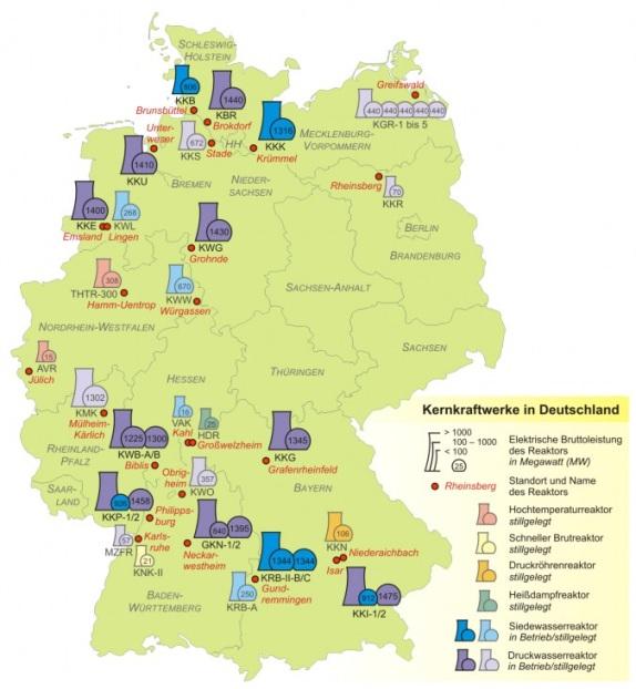 Отказването от АЕЦ е предизвикателство за енергетиците в Германия