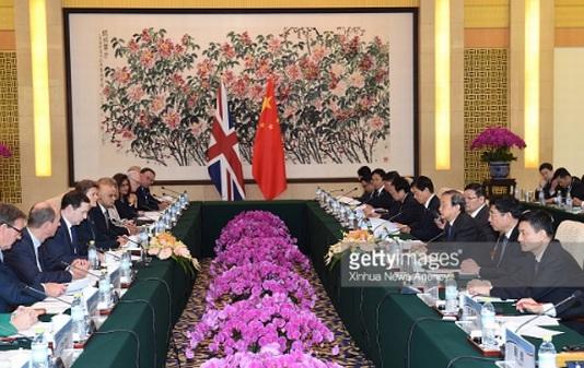 Китай и Великобритания създават съвместен център за изследвания и иновации (JRIC)