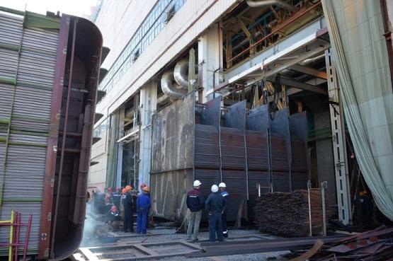 На първи блок на Ростовската АЕЦ започна уникална операция по подмяната на кондензатора на турбината