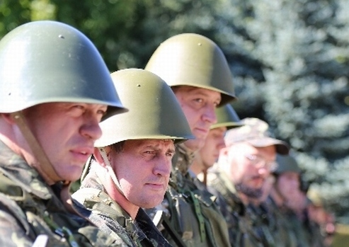 """Украйна – ядрените енергетици участват в курсове за """"новобранци"""" към Националната гвардия"""