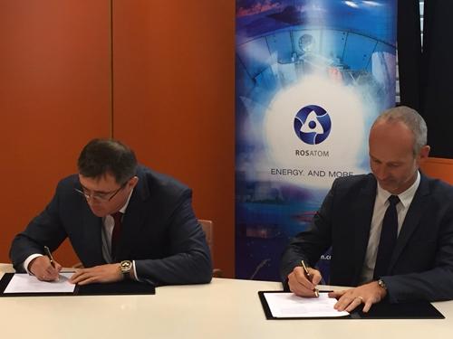 """Руската компания """"Атомстройэкспорт"""" подписа меморандум за сътрудничество с френската DASSAULT SYSTEMES и европейския клон на компютърния гигант IBM"""