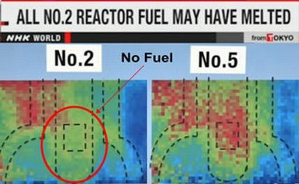 """На втори блок на АЕЦ """"Фукушима-1"""" се е разтопило над 70% от ядреното гориво – мюонен анализ"""