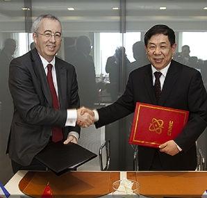 Китай – CNNC и Areva през 2020 година започват да изграждат завод за преработка и рециклиране на ОЯГ