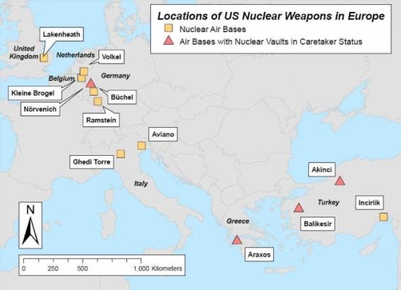 САЩ опровергаха разполагането на нови ядрени оръжия в Германия
