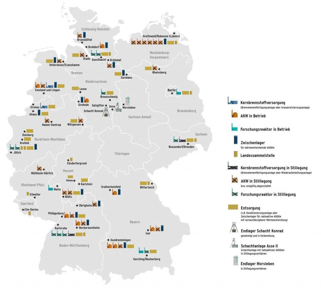Германия – Министърът на икономиката счита, че енергийните компании могат сами да покрият разходите за ликвидиране на ядрената енергетика в страната