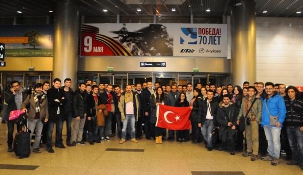 Петата група студенти от Турция пристигна в Русия по програмата за подготовка на специалисти за АЕЦ Аккую