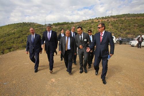 """Министърът на енергетиката на Турция инспектира площадката за строителството на АЕЦ """"Аккую"""""""