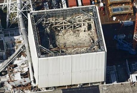 Завърши демонтажът на защитната покривна конструкция (купол) на зданието на реактора на първи енергоблок
