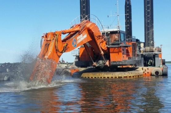 Финландия – Компанията Wasa Dredging ще извърши продълбочаване на дъното на пристанищния басейн на АЕЦ Ханхикиви-1