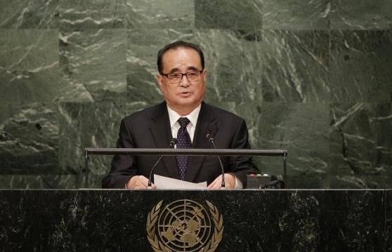 Министърът на външните работи на КНДР заяви, че страната му има право да изстрелва спътници и да извършва ядрени изпитания