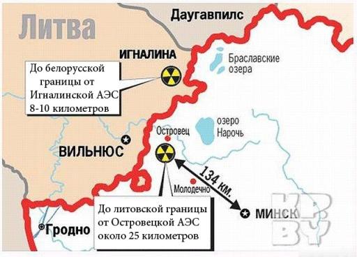 Литва категорично се отказа да купува електроенергия от Беларуската АЕЦ