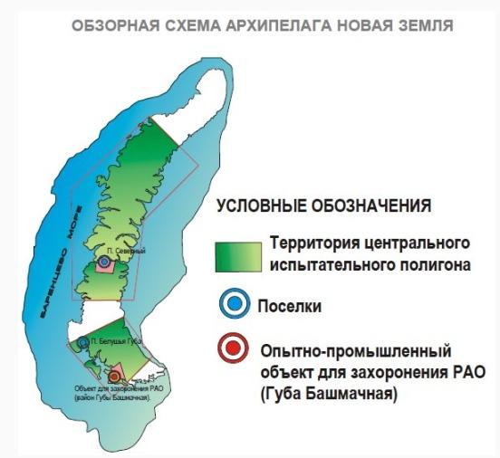 На Нова Земя планират създаване на хранилище за РАО