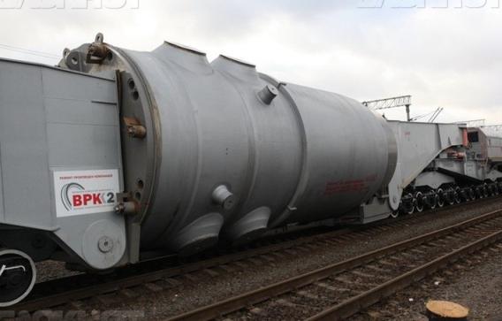 Корпусът на реактора пристигна на строителната площадка на Беларуската АЕЦ