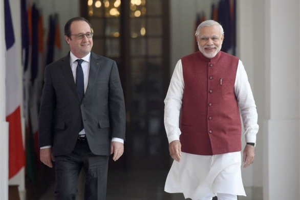 Строителството на френската АЕЦ в Индия може да започне през следващата година
