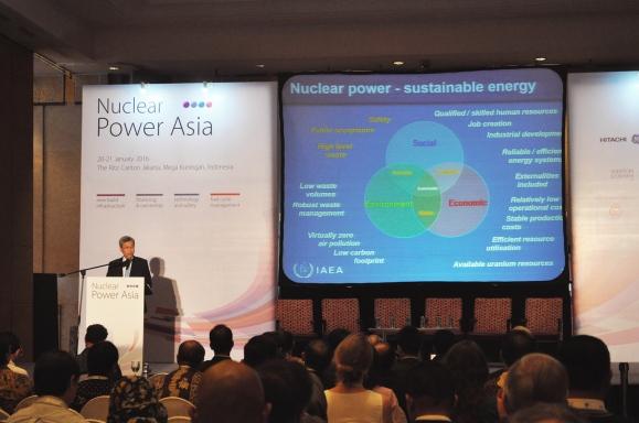 "Джакарта – Международна конференция NUCLEAR POWER ASIA 2016 – представяне на ""РОСАТОМ"""