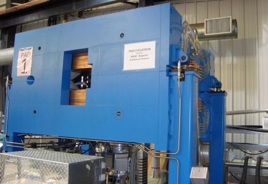 Ускорител – циклотрон от типа TR24 бе доставен в ИЯИЯЕ – подробности