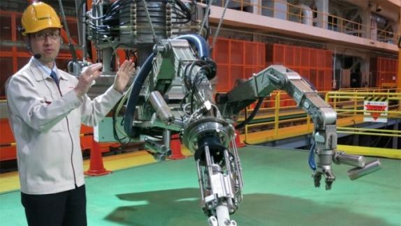 """Toshiba демонстрира на живо робот-манипулатор за """"Фукушима"""""""