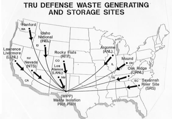 САЩ – WIPP (Waste Isolation Pilot Plant) ще възобнови работа в края на 2016 година