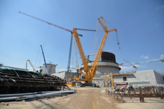 Монтажът на оборудването на Беларуската АЕЦ ще се разгърне напълно през тази година