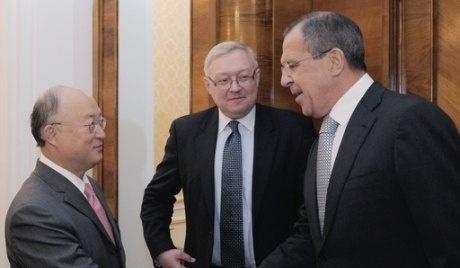 Сергей Лавров обсъди с генералния директор на МААЕ въпросите за реформиране на агенцията