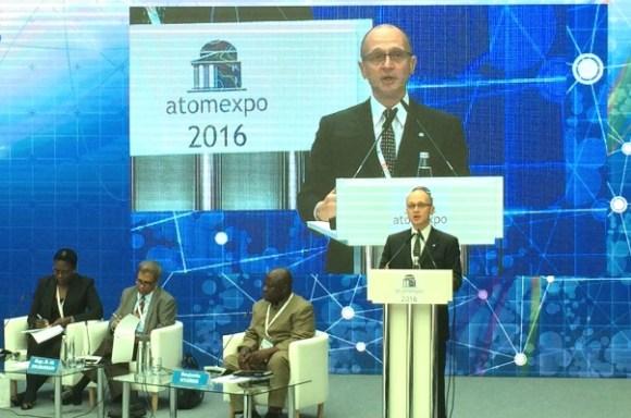 Потенциалът на подписаните на «АТОМЭКСПО -2016» документи се оценява на 10 милиарда долара