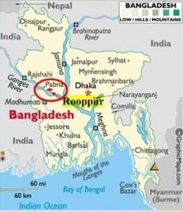 """""""Росатом"""" ще започне строителството на АЕЦ в Бангладеш през 2017 година. Компанията получи лицензия на площадката."""