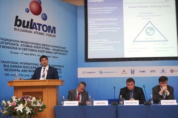 Ехо от форума на Булатом – Вадим Титов: Ние се гордеем с взаимноизгодното сътрудничество с българските специалисти в областта на ядрената енергетика, което през тази година отбелязва 50-годишен юбилей