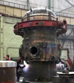 «Атомэнергомаш» започна да сглобява корпуса на реактора «РИТМ-200» за първия сериен ледоразбивач от проекта 22220