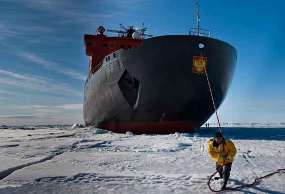 """""""РОСАТОМФЛОТ"""" откри сезона на туристическите разходки с ледоразбивач до Северния полюс"""