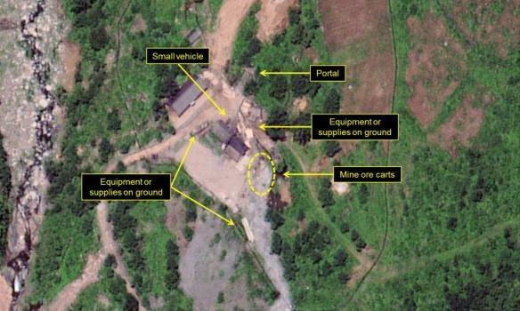 Експерти от САЩ: на ядрения полигон в КНДР се забелязва висока степен на активност