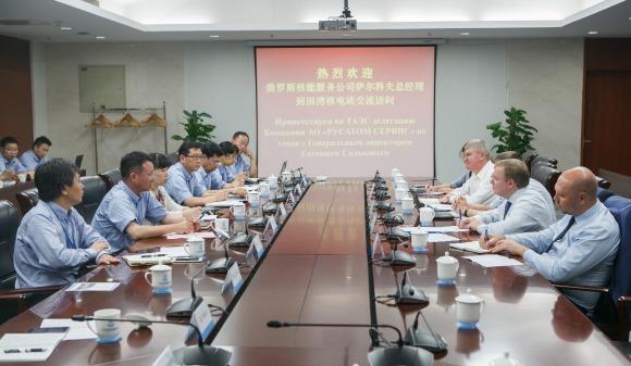 """Русатом Сервис и АЕЦ """"Тянван"""" в Китай задълбочават сътрудничеството си"""