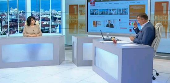 """В студиото на БНТ """"Още от деня"""" министър Петкова не каза нищо ново относно оборудването за АЕЦ """"Белене"""""""