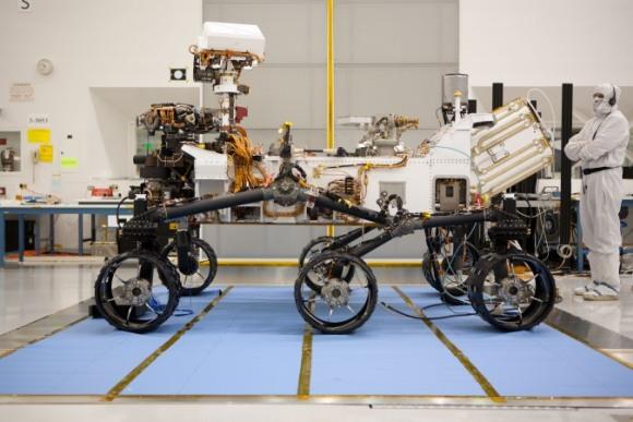 НАСА ще пусне втори марсоход захранван от ядрена енергийна установка през 2020 година.