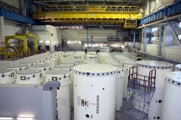 В Ленинградската АЕЦ беше разглобена и подготвена за съхранение десет-хилядната касета ОЯГ