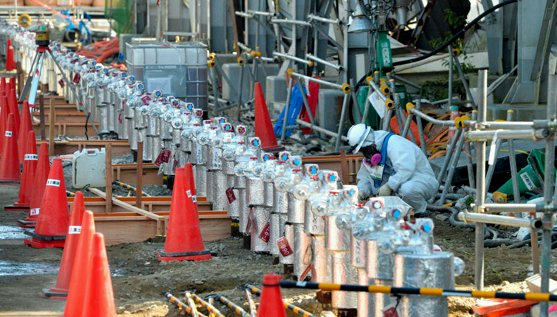 Ледената стена ('ice wall') на АЕЦ Фукушима-1 е неефективна